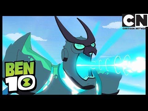 Overflow Fights Vilgax   Animorphosis   Ben 10   Cartoon Network