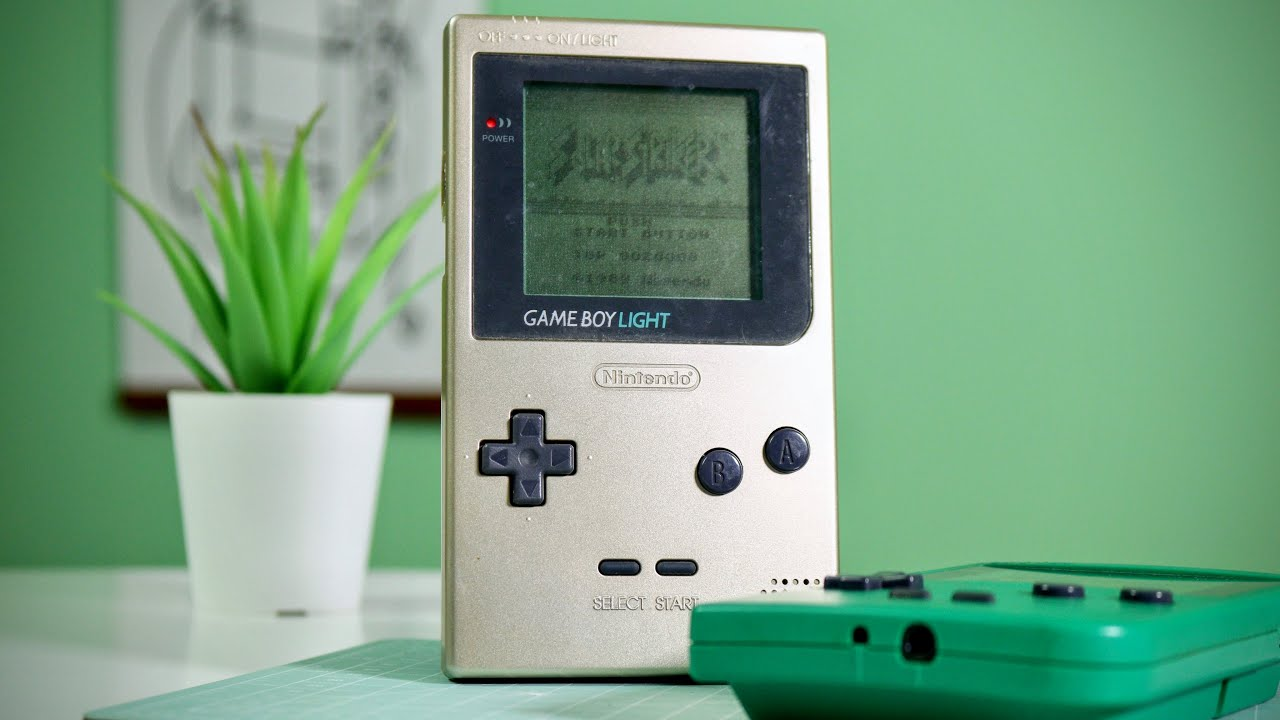 I paid ¥500 for a GameBoy Light... ($5)