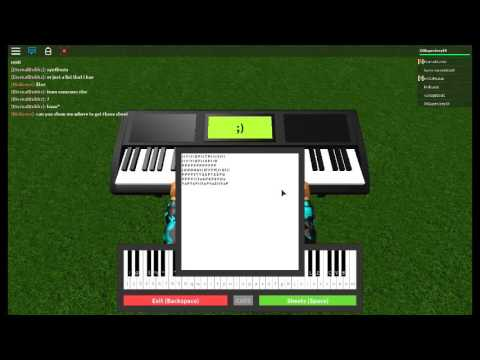 how to play faded on piano roblox