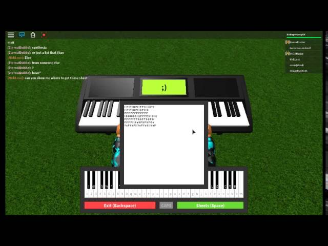 Roblox Piano Faded Sheets Youtube
