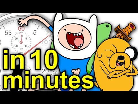 The History Of Adventure Time   A Brief History