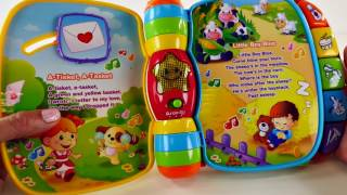 Musical Rhymes Book VTech Learn 40 Songs Teaching Colors Nursery Rhymes Toddler Toys