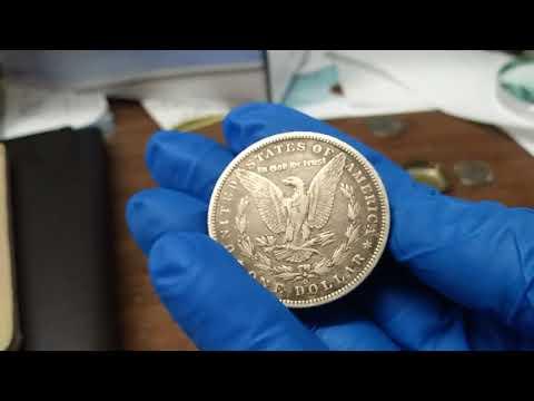Tutorial On 1889 Morgan Silver Dollar