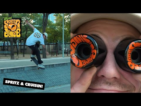 Spritz, Mini Super Juice, and Insane Spots | Cruisin' Barcelona