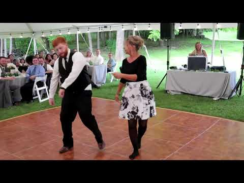The Greatest Showman Mother/Son Dance at Corey and Katie's Wedding