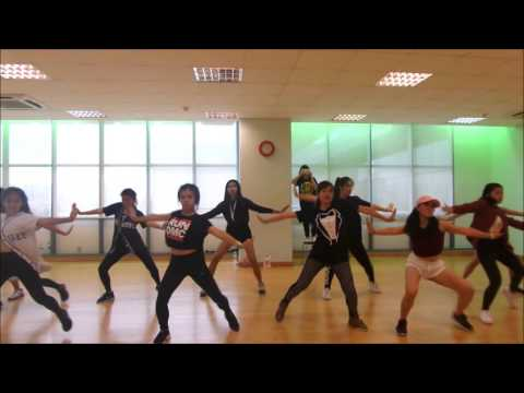 Mina Myoung 7/11 Dance Workshop in Singapore