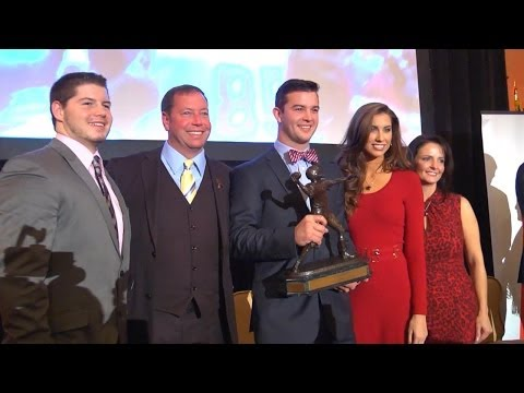 2013 Golden Arm Award: AJ McCarron (Full Video)