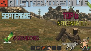 Top 6 Servidores Activos De Rust Legacy  | Septiembre  | Zeroxgamer
