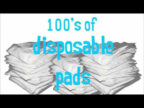 1 Washable Lennypad Vs 100s Of Disposables Dog Potty Pads
