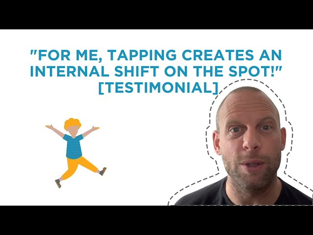 Tapping Creates An Internal Shift On The Spot | Social Anxiety Testimony 2021 |🌈
