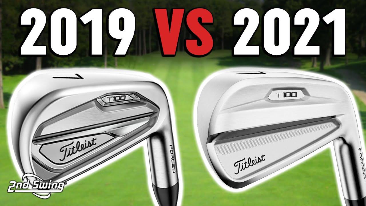 Download Titleist Irons Comparison   2019 T100 vs 2021 T100