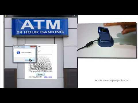 Fingerprint Based ATM Project