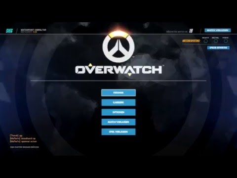 Overwatch Beta Ending Screen Bug. ( + Music Test. ) - YouTube