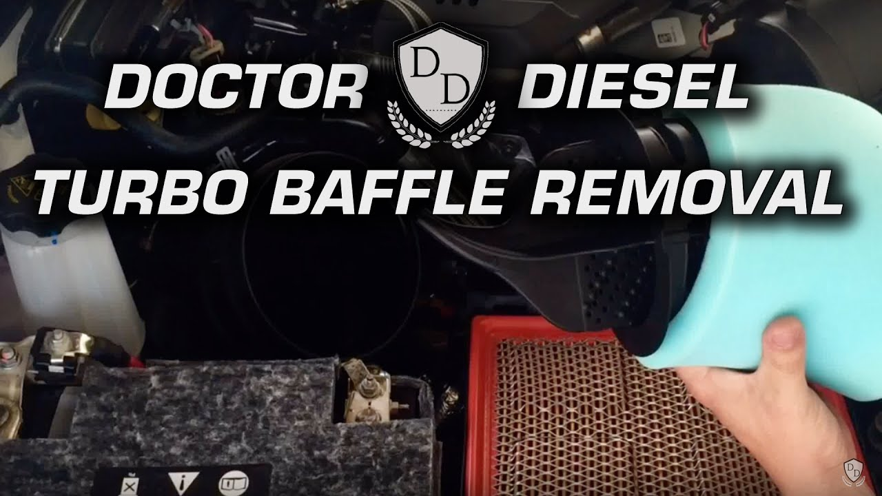 2017 Dodge 3500 >> Turbo Baffle Removal EASY! - 2017 RAM 2500 6.7 Cummins ...