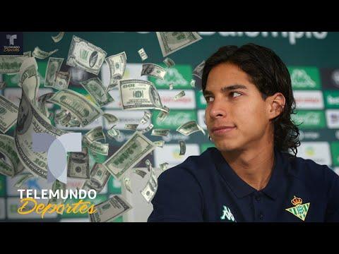 ¡Le huyeron! Diego Lainez espantó con su precio a estos equipos | Telemundo Deportes