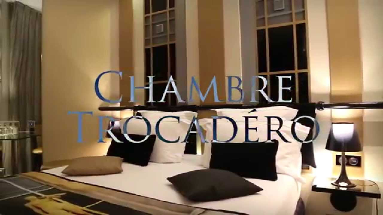 Trocad ro room hotel design secret de paris youtube for Hotel design secret