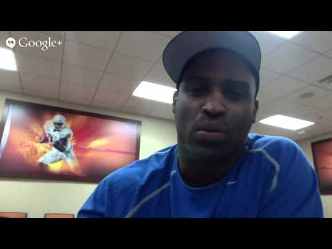 NFL's Ricky Williams Changes the Game to Healing