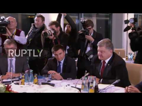 Germany: Putin and Poroshenko attend Normandy Four talks on Ukraine