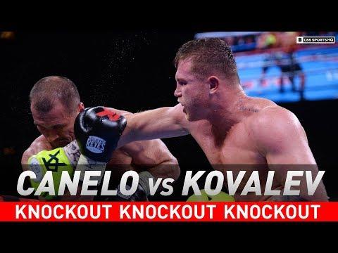 Canelo Alvarez Stuns Sergey Kovalev With Vicious TKO In The 11th Round   Highlights   CBS Sports HQ
