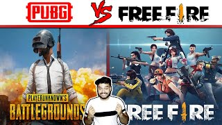 कौन जीतेगा? PUBG vs FREE FIRE - Game Comparison and Random Facts - TEF Ep 98