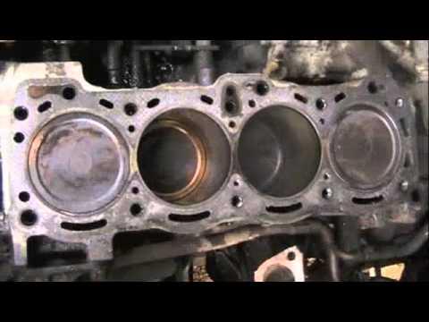 4ze1 Isuzu 4 Cylinder Head Burnt Valve Trooper Youtube