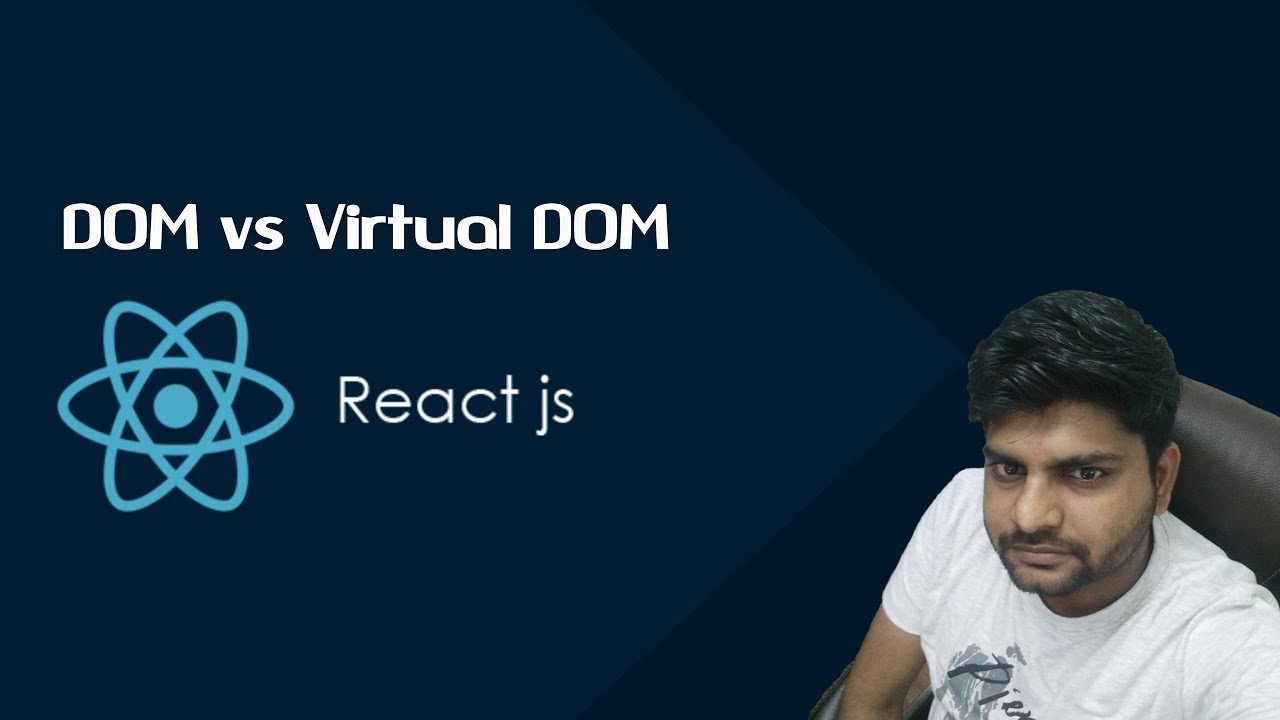 ReactJS Tutorials in Hindi: What is DOM? DOM vs Virtual DOM Part-4
