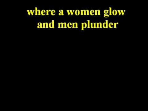 men at work  a land down under (lyrics)