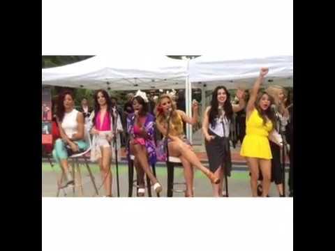 Fifth Harmony ft. Bea Miller Natalie La Rose and Debby Ryan Birthday Shoutout