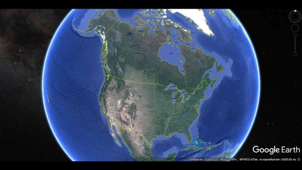 Google Earth United States of America