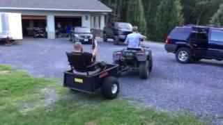black widow redneck rickshaw