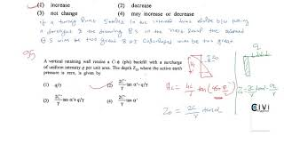 RPSC AEN CIVIL ENGINEERING  PREVIOUS YEAR 2013 SOLVED REMAINING QUESTION