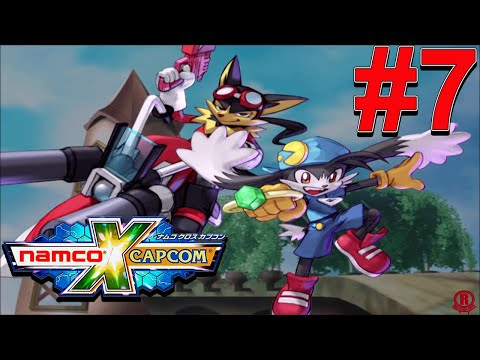 Namco X Capcom (HD) English - Gameplay Walkthrough Part 7 - Klonoa Heroes [1080p 60fps]