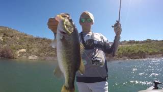 BASS FISHING IN LAKE SAN VICENTE!