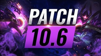 Best Champions TIER List – League of Legends Patch 10.6