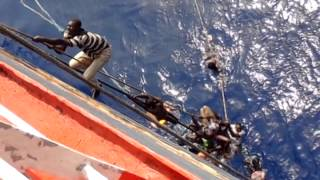 M.V. Stjerneborg Search & Rescue Malta to Libya Migrant part 3