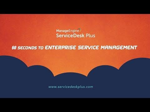 Enterprise Service Management (ESM) comes to ServiceDesk Plus