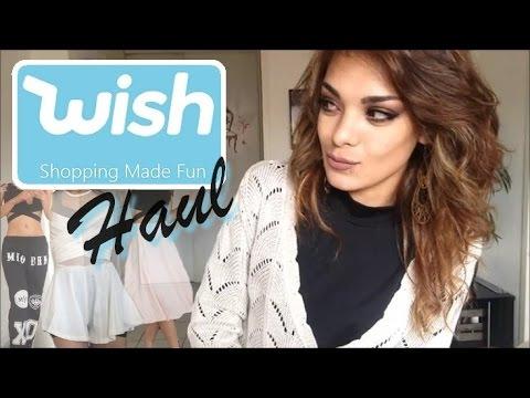 Haul Wish 3 , vêtements, accessoires, maquillage , site chinois