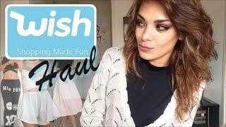 Haul Wish #3 - vêtements, accessoires, maquillage - site chinois