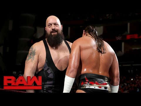 Thumbnail: Big Show teaches Big Cass to pick on someone his own size: Raw, July 10, 2017