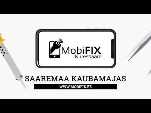 MobiFix Kuressaare - Saaremaa Kaubamajas - Küsi pakkumist!