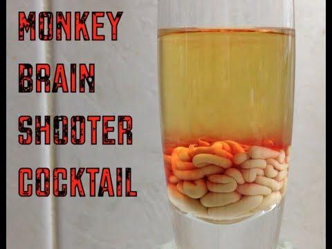 Monkey Brains Shooters Video Recipe cheekyricho