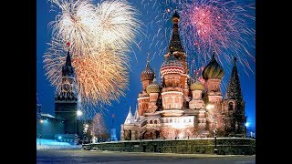 New year celebration 2019   Moscow   Russia   празднование нового года москва   Part -1