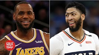 LeBron James and Anthony Davis will go all out to recruit - Brian Windhorst | Golic and Wingo
