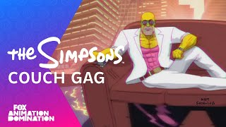 THE SIMPSONS | LA-Z Rider Couch Gag from Guest Animator Steve Cutts | ANIMATION on FOX(Enjoy this week's retro couch gag. Guest Animator: Steve Cutts Subscribe now for more The Simpsons clips: http://fox.tv/SubscribeAnimationDomination See ..., 2016-01-10T04:29:56.000Z)