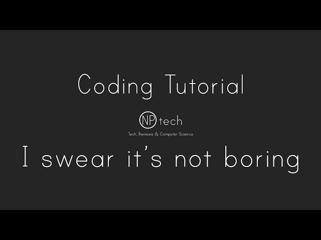 Python Coding tutorial - Dont be scared of code! Step by step walkthrough