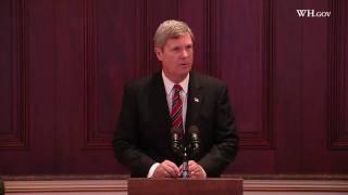 Secretaries Locke and Vilsack in Regional Energy Leadership Briefing