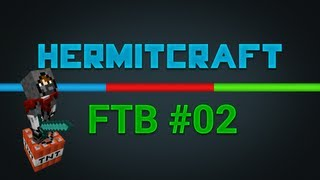 HermitCraft FTB - Ep2 - Simple Stuff