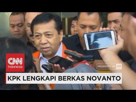 Berkas di P21 KPK, Setya Novanto Segera Disidang