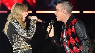 Download Robbie Williams and Taylor Swift Angels #live at Wembley Mp3 and Videos