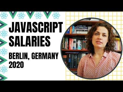 Javascript Salaries in Berlin, Germany